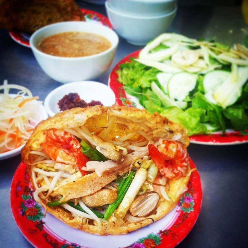 Quán bánh khoái ngon ở Huế