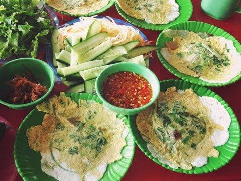 Quán bánh ép ngon ở Huế