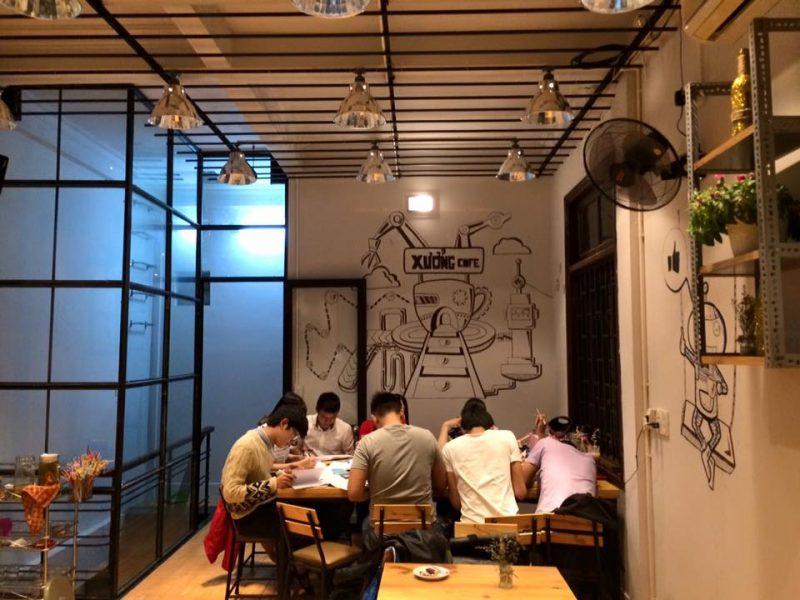 Quán cafe ở đường Nguyễn Huệ Huế
