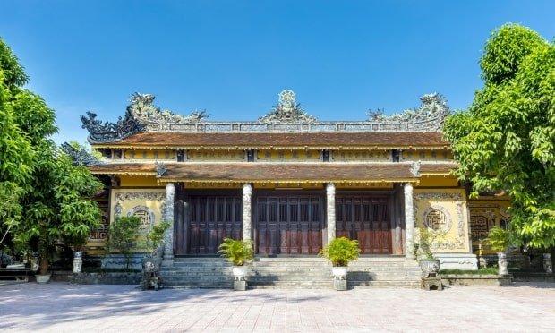 ngôi chùa đẹp ở Huế
